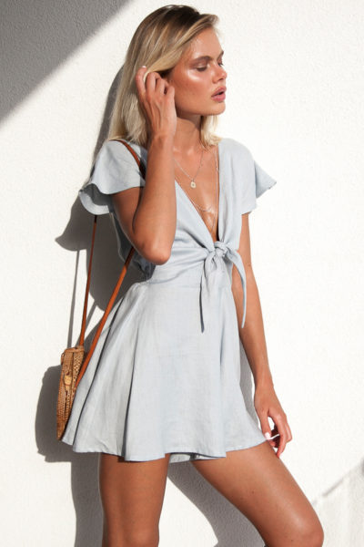 Ruby-Romper-by-Palm-Collective-Resort-17-Blue-Linen-Playsuit-Romper-Online-Tie-Front-Playsuit-Short-2 (1)