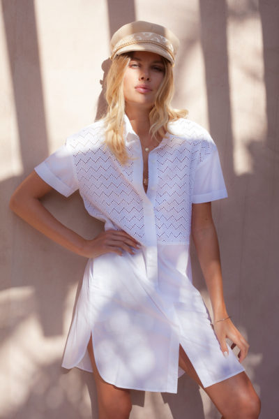 Palm-Collective-White-Shirt-Dress-Summer-Button-down-Dress-with-sleeves-buy-online