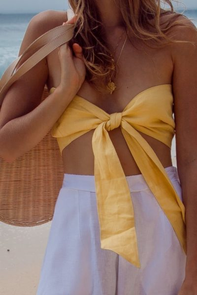 Yellow-Linen-Bandeau-Crop-Top-683x1024